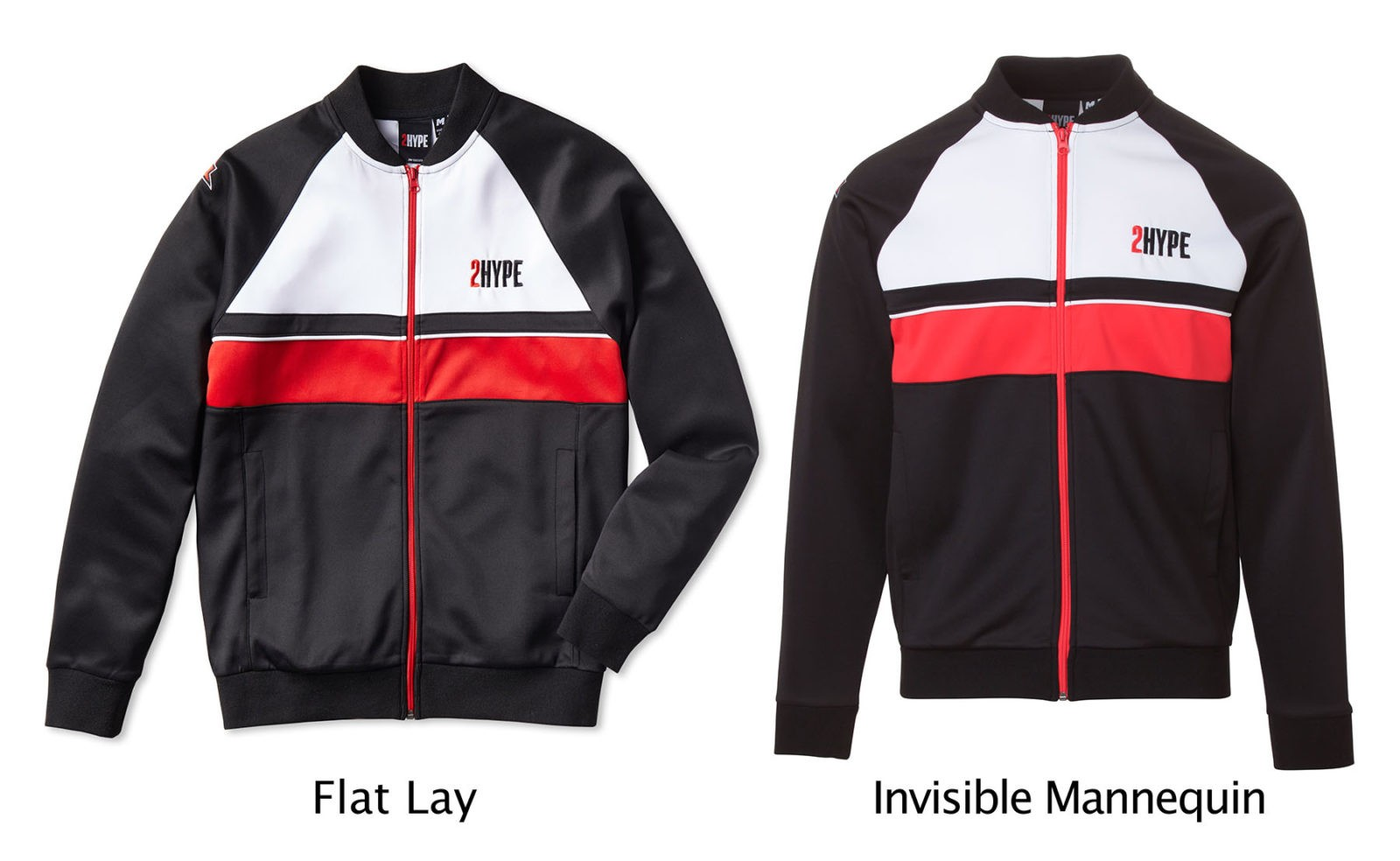 Invisible Mannequin vs Flat Lay